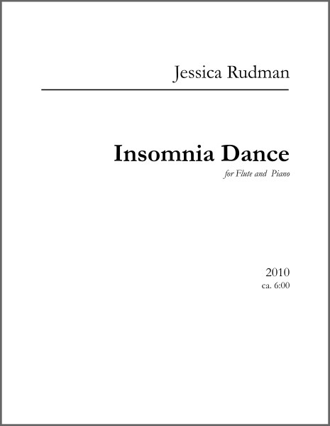 Insomnia Dance Product Image