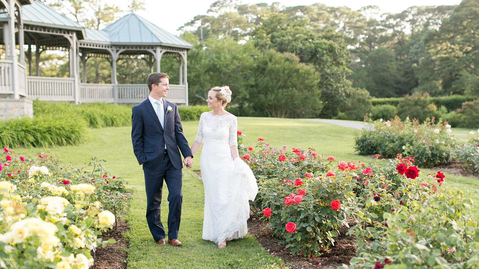 bride_and_groom_in_the_rose_garden_norfolk_botanical_gardens_wedding-jessica_ryan_photography_jessica_ryan_photographer_virginia_wedding_photographer