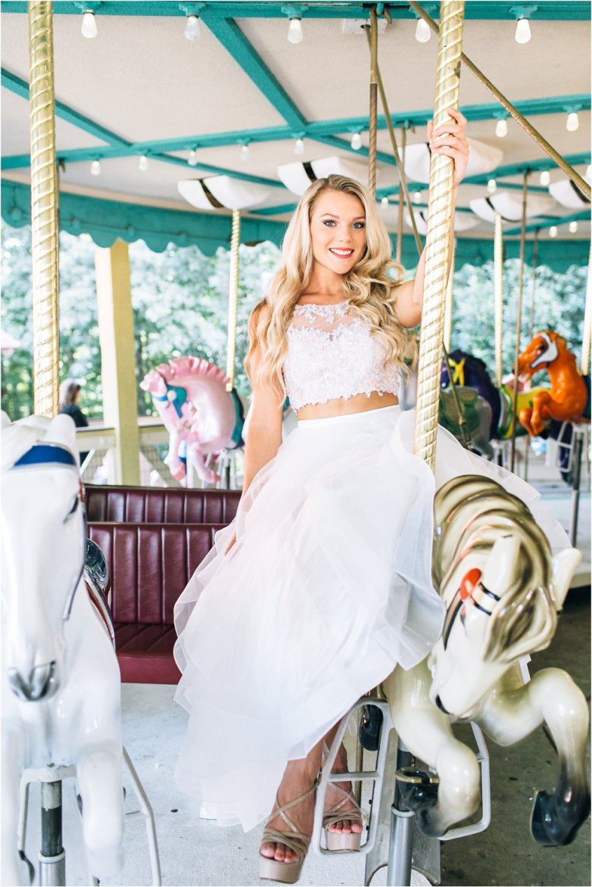 A Fun And Vibrant Portrait Session With Busch Gardens And