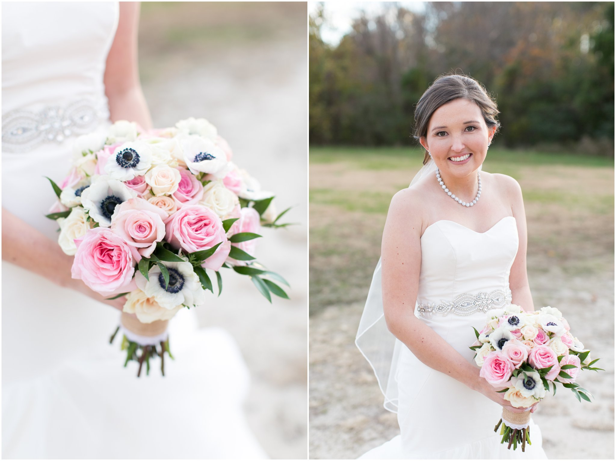 williamsburg winery wedding virginia bride portrait blush by hayley paige wedding dress
