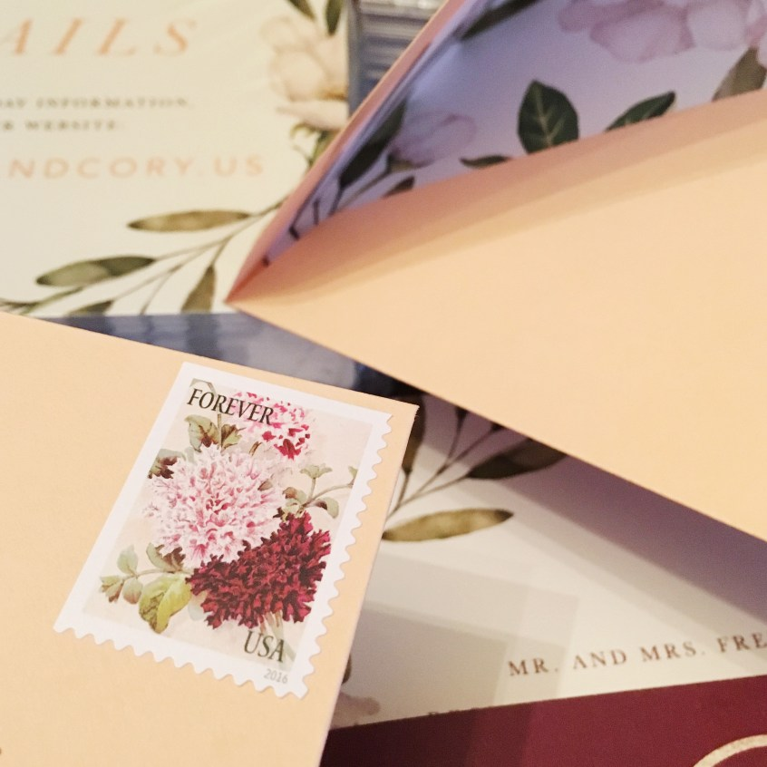 wedding invitations paper dolls design