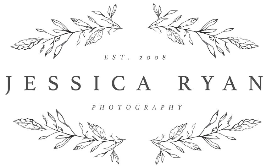 jessica ryan photography brand and logo