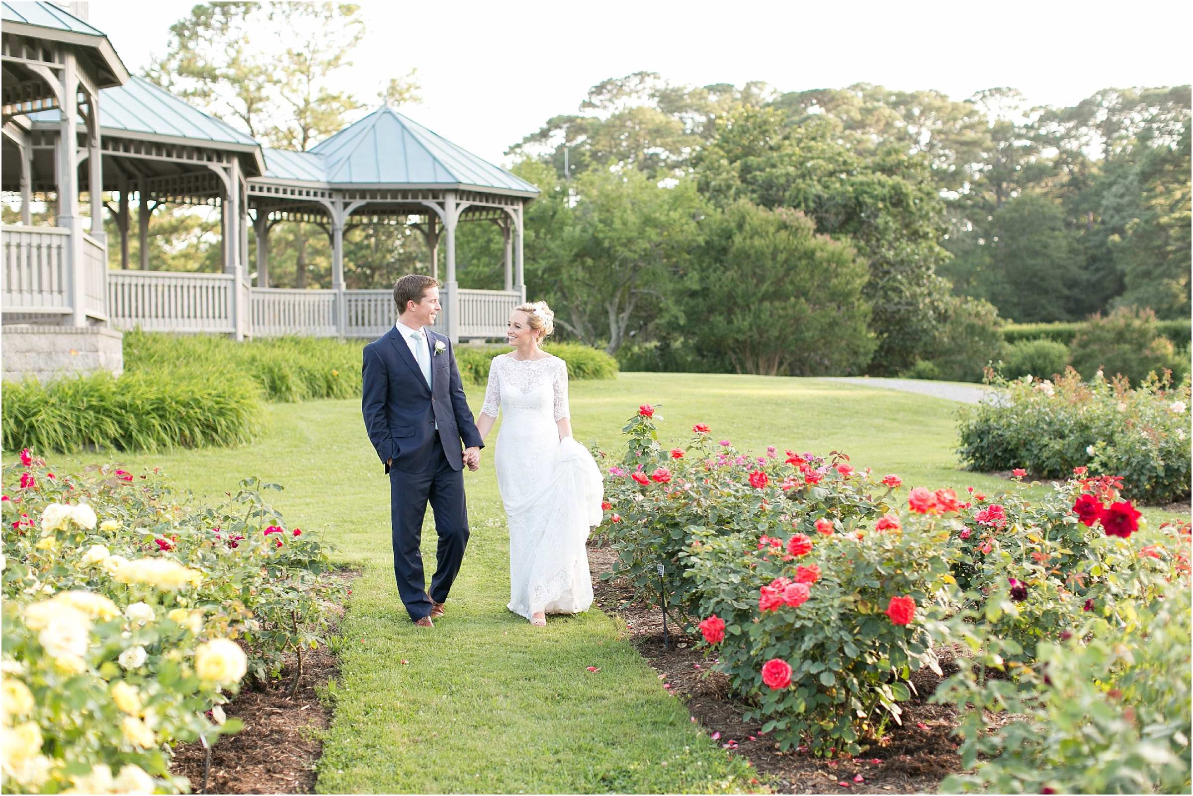 ... Botanical Gardens Wedding Photography Norfolk Virginia Rose Garden  Wedding Jessica Ryan Photography ...