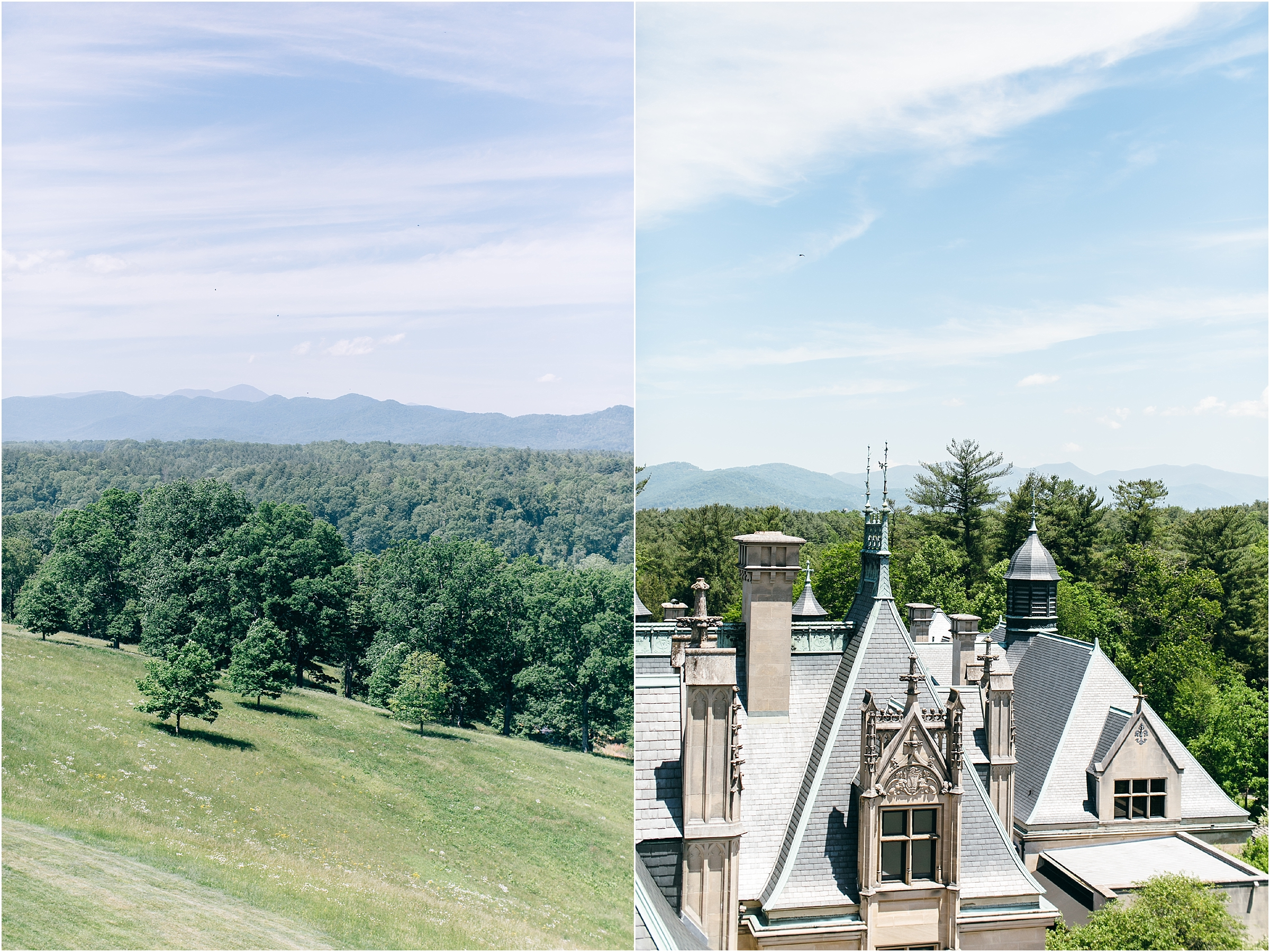 asheville north carolina wedding at the biltmore estate