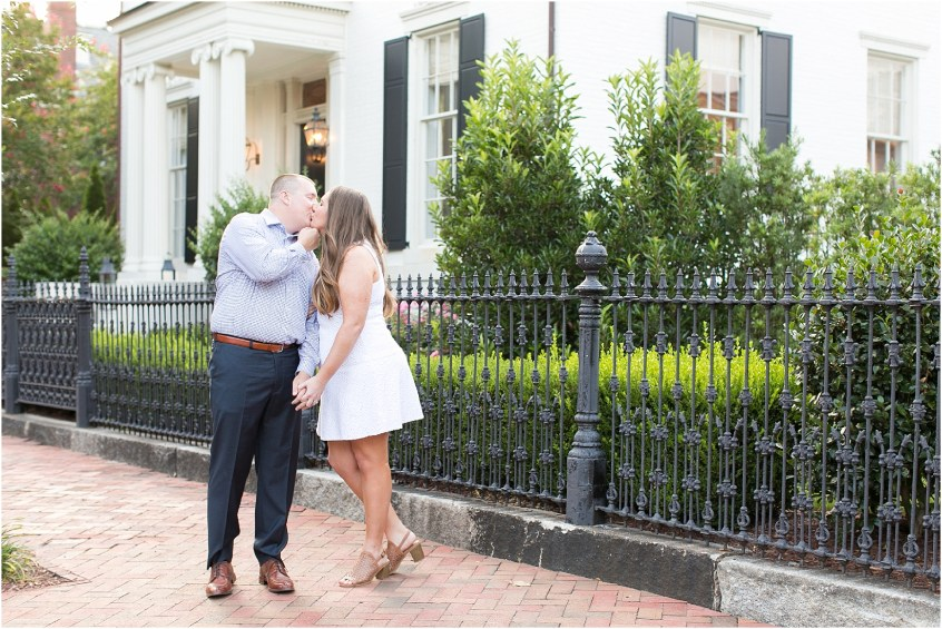 Norfolk Engagement Bride and Groom Freemason District Downtown Norfolk Engagement Photography Virginia Jessica Ryan Photography