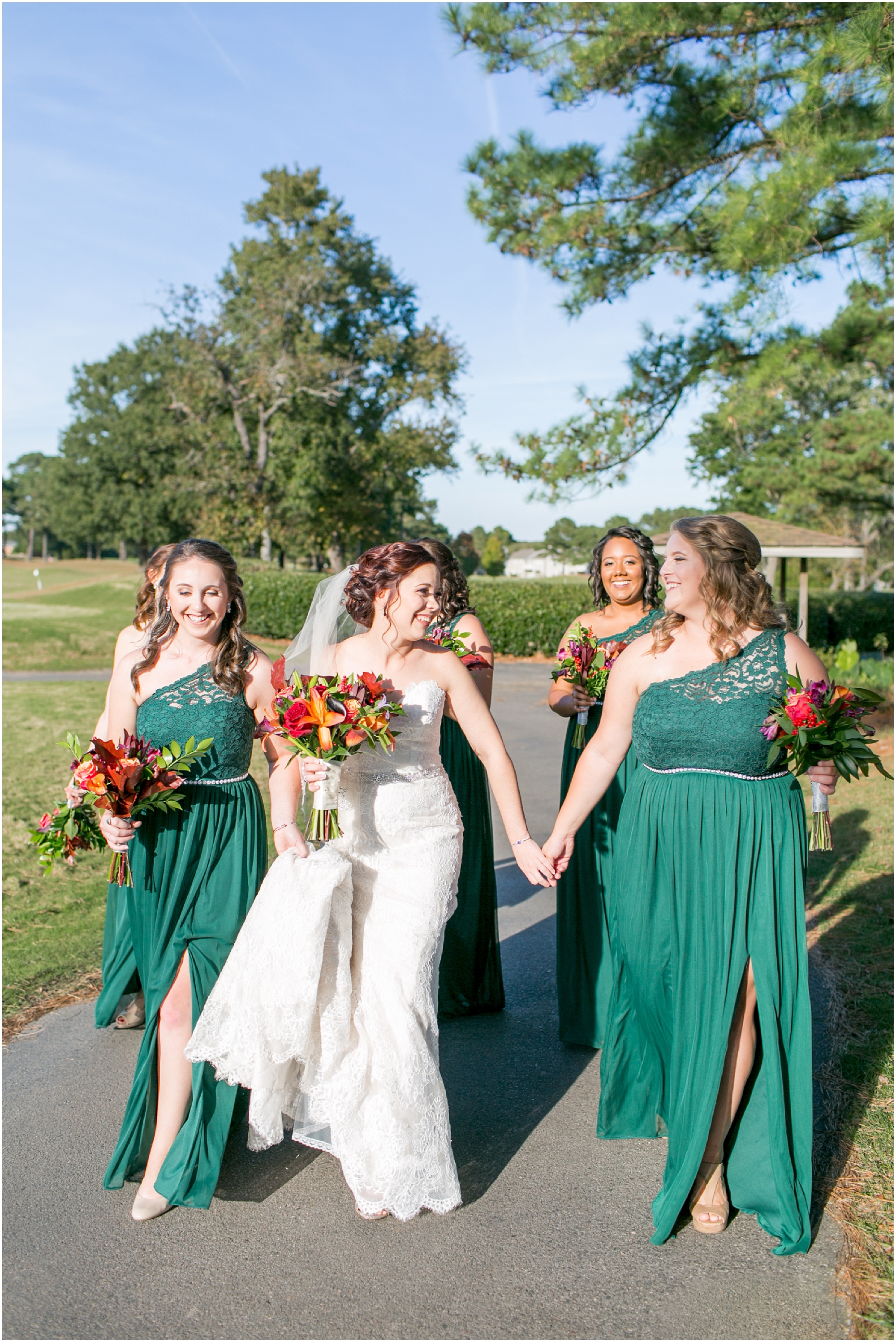 cypress point country club wedding virginia beach jessica ryan photography studio i do wedding dress , allure bridals, fluttering flowers