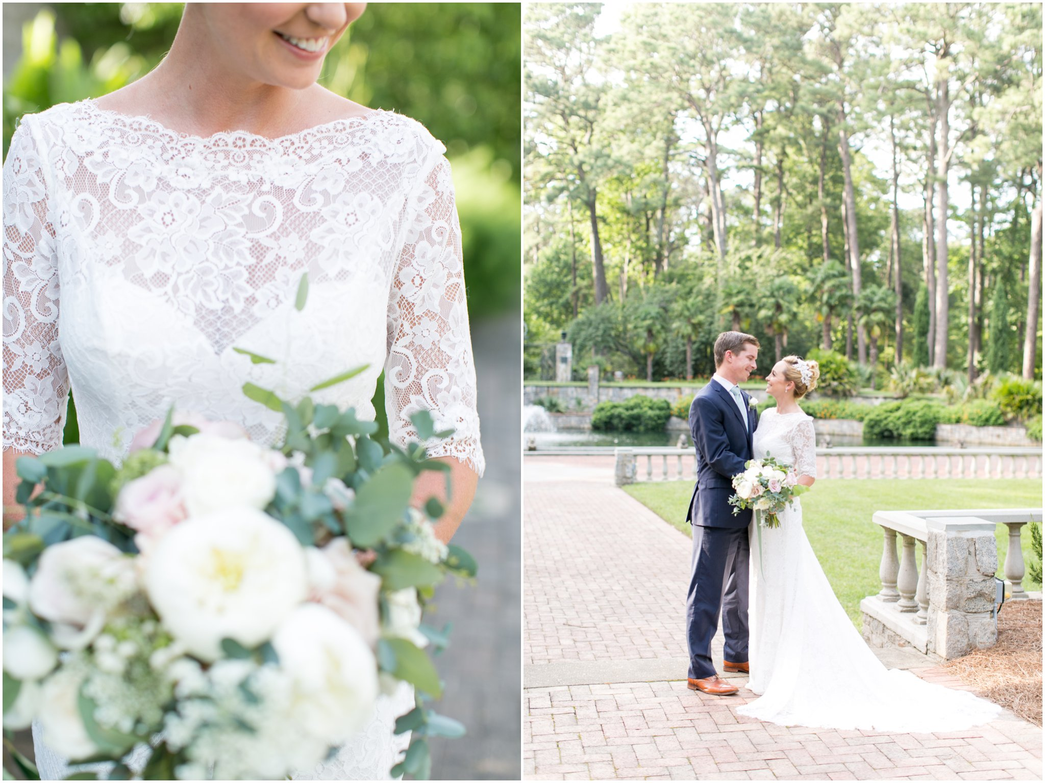 virginia wedding photography, botanical gardens wedding, norfolk botanical gardens wedding