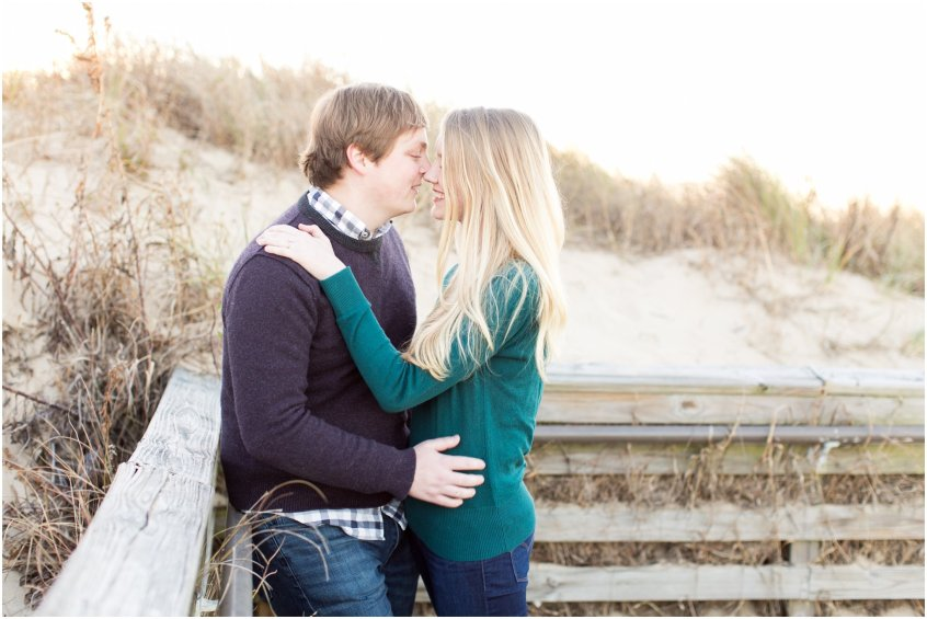 first landing state park engagement virginia beach engagement photography