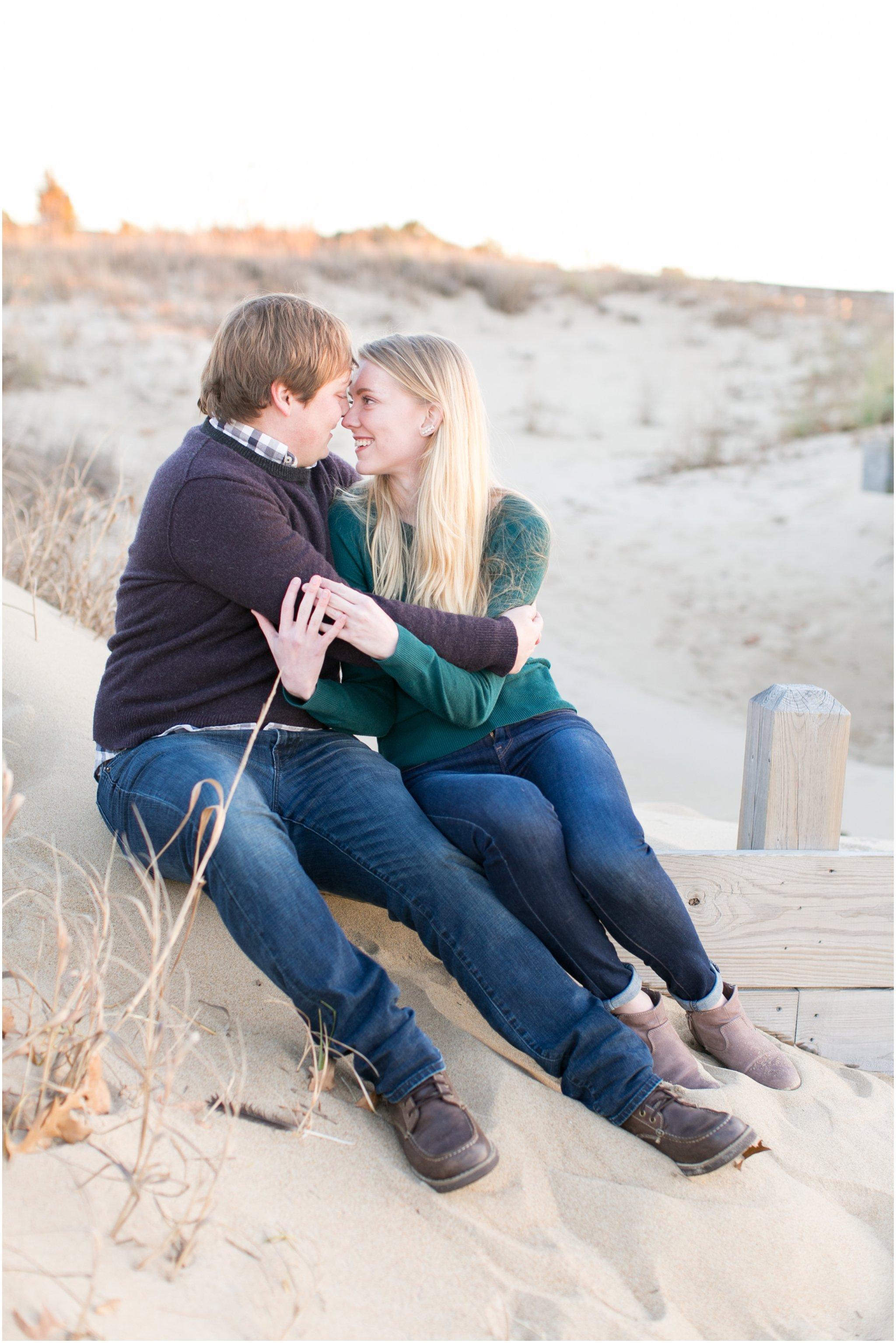 first landing state park engagement virginia beach engagement photography