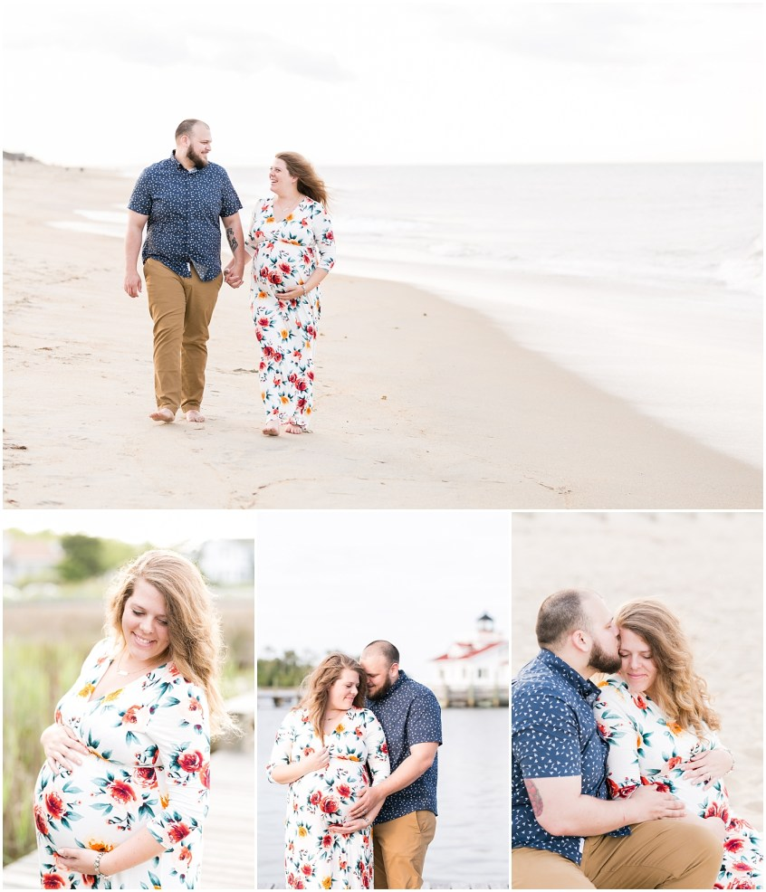 manteo north carolina maternity portrait