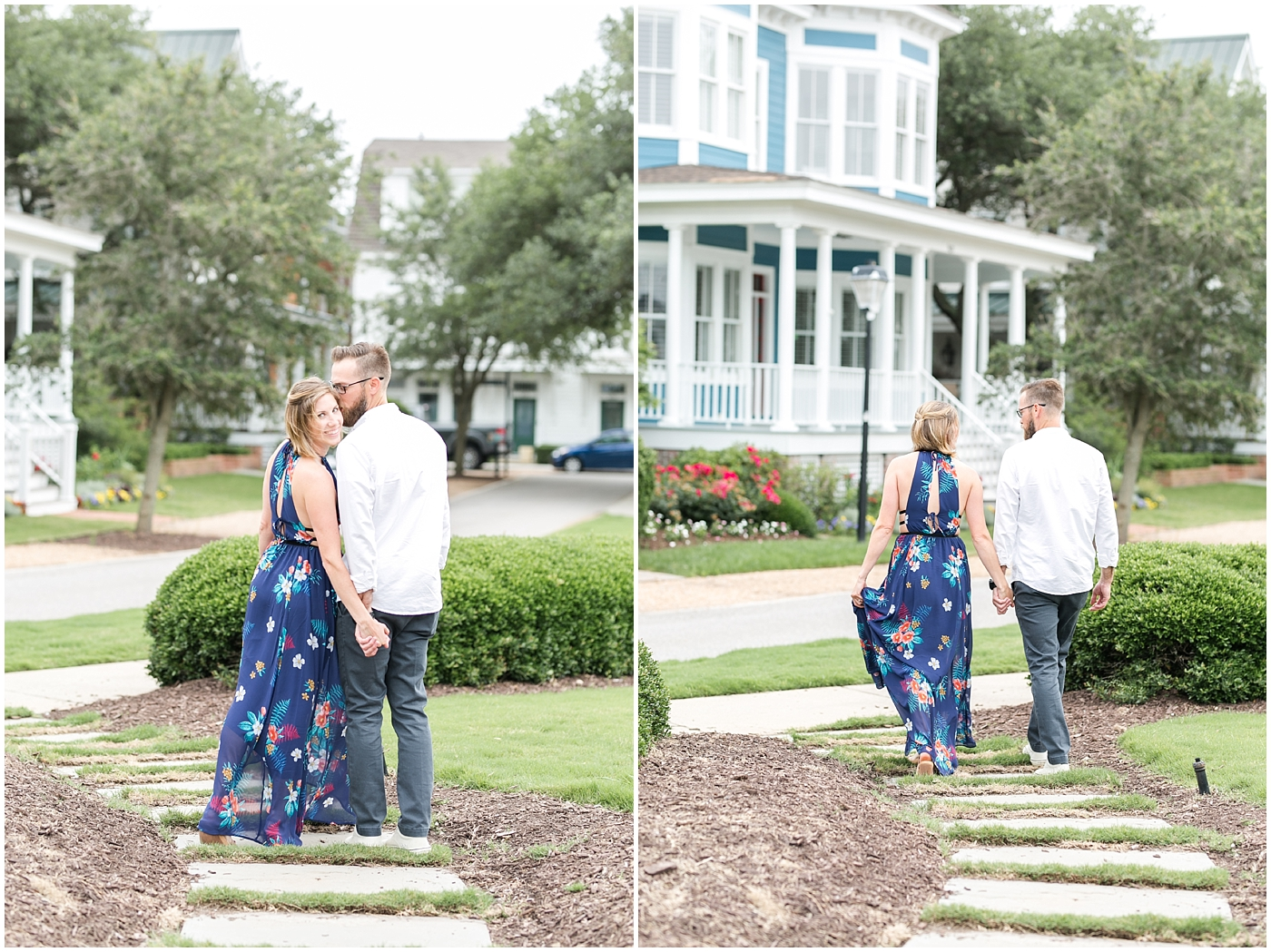 east beach norfolk virginia candid engagement photography