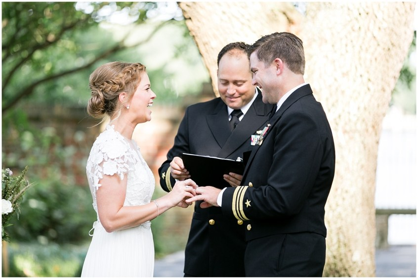 garden wedding ceremony at the hermitage museum and gardens