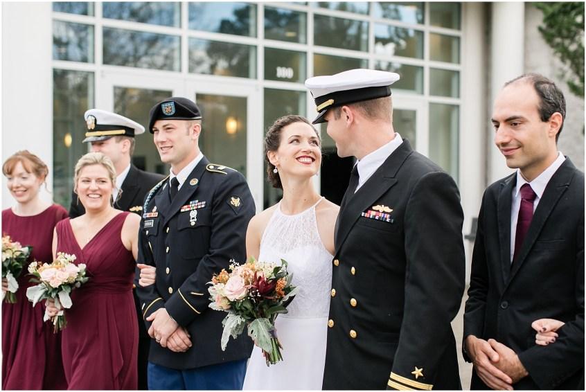 Mariner's Museum Wedding bridal party