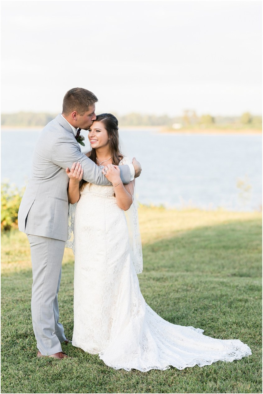 Bride and groom at Planter's Club Wedding, Suffolk Virginia, southern wedding
