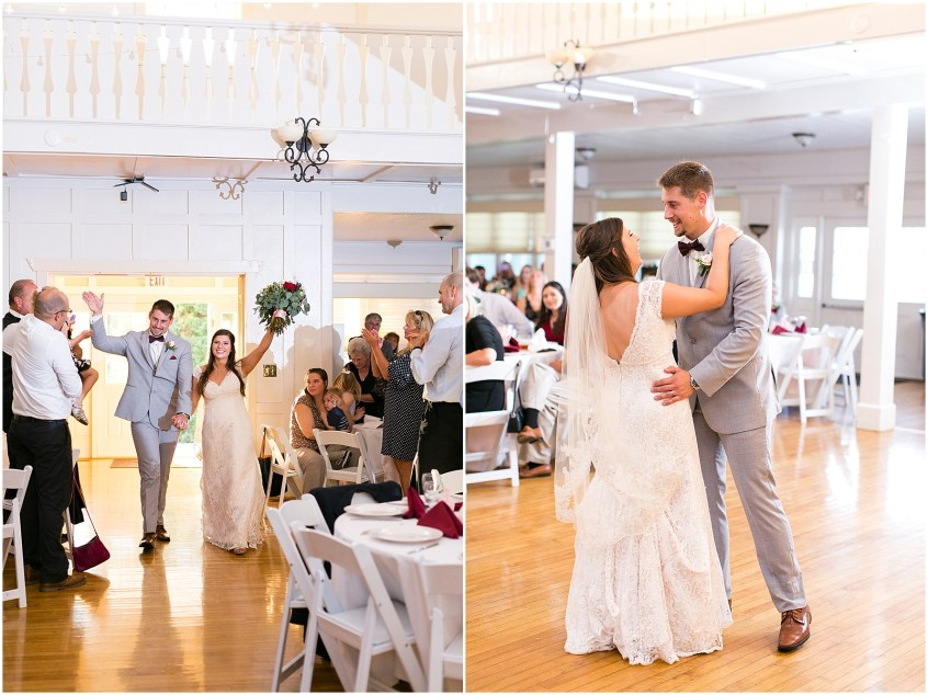 Reception at Planter's Club Wedding, Suffolk Virginia, southern wedding