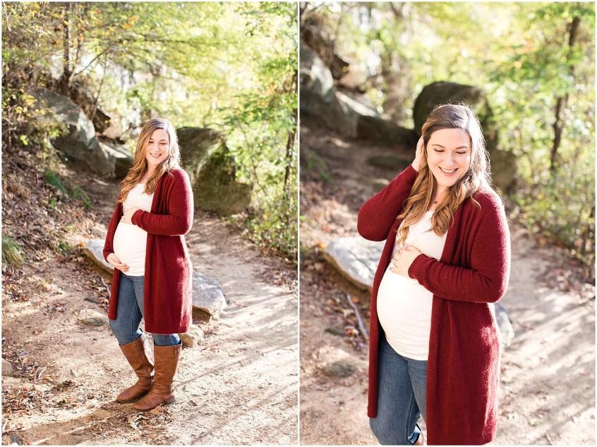 richmond virginia belle isle maternity portaits