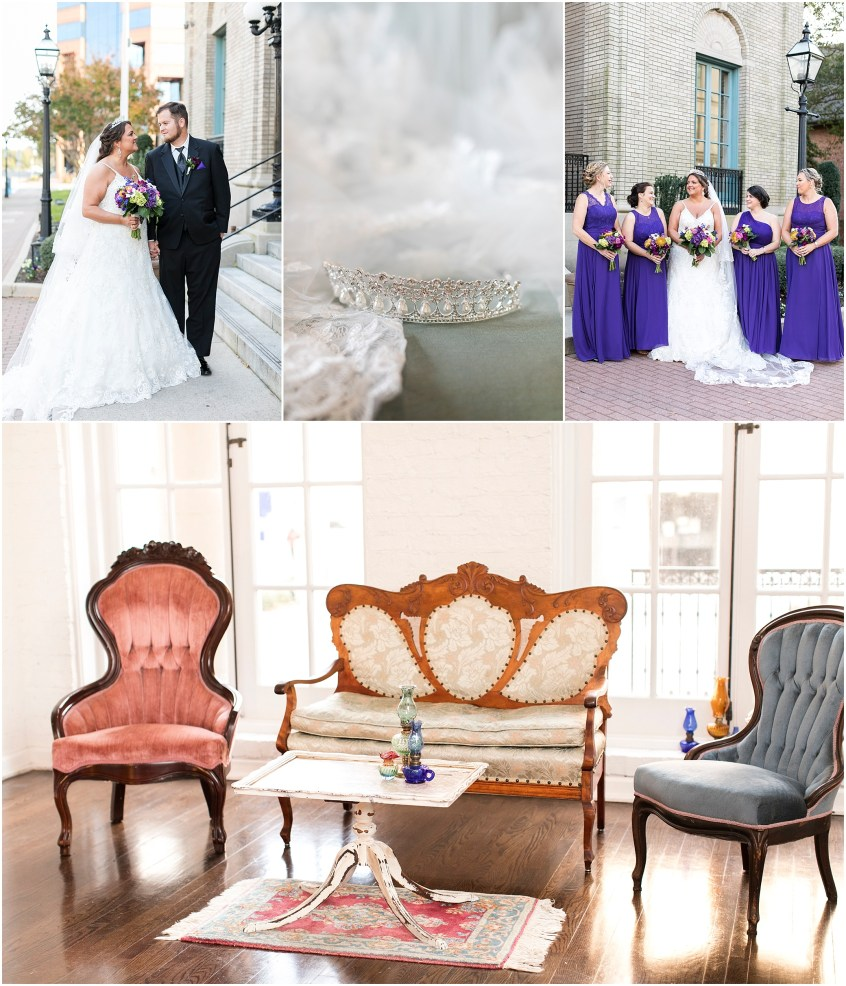 Crystal Clear Event Wedding Giveaway, Historic Post Office Wedding