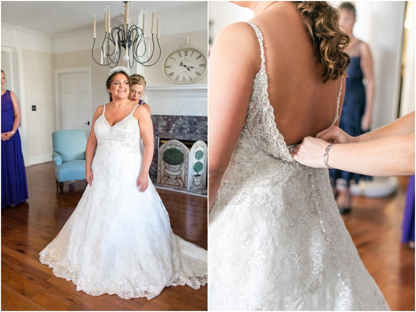 crystal clear event wedding giveaway, historic post office wedding, Waterford event rentals, bridal suite