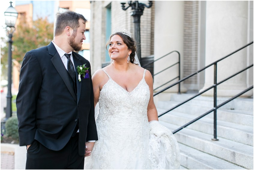 crystal clear event wedding giveaway, historic post office wedding, Waterford event rentals, bride and groom