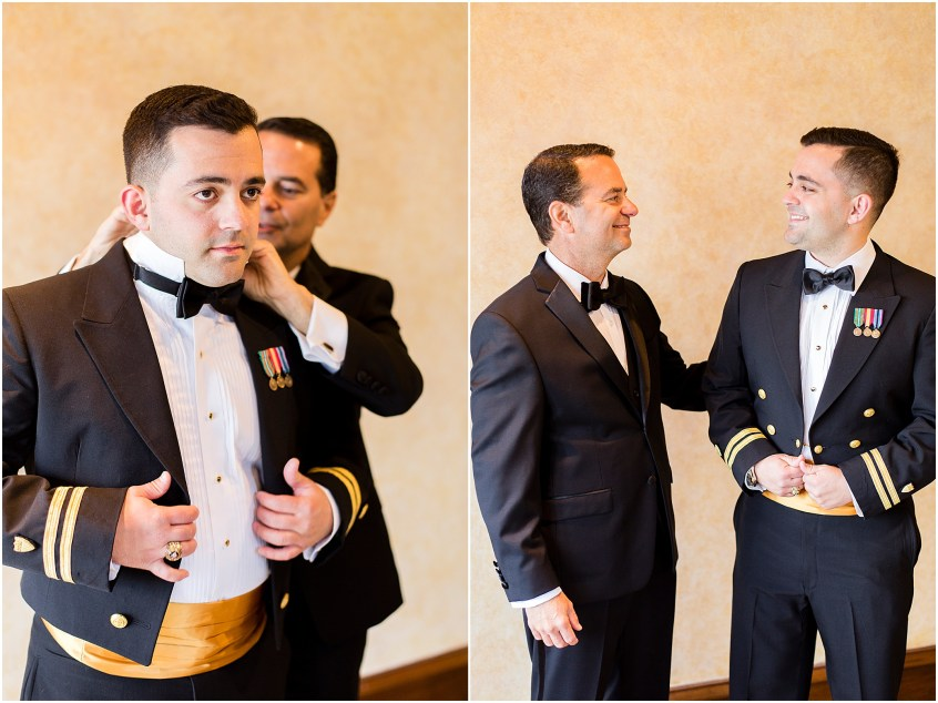 groom getting ready, spring wedding at the hermitage museum and gardens, Jessica Ryan photography,