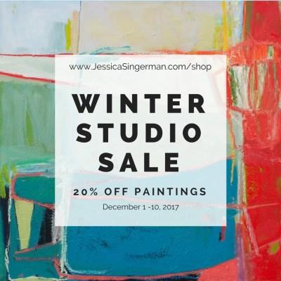 winter studio sale
