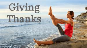 Giving Thanks – Free Online Pilates Mat Class