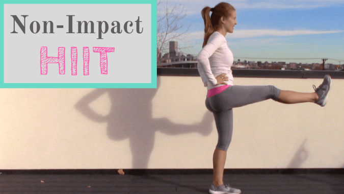 Non-Impact HIIT workout
