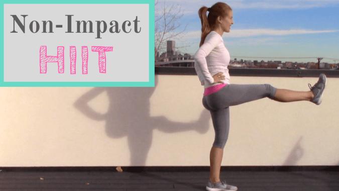 Non-Impact HIIT workout