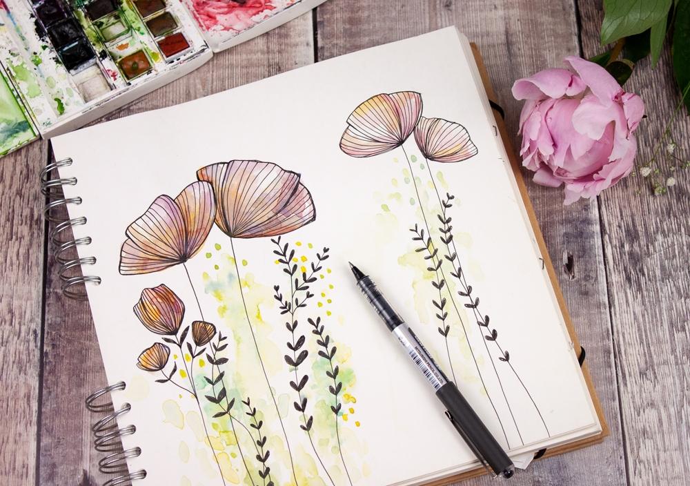 Sketchbook drawings by Jessica Wilde ©