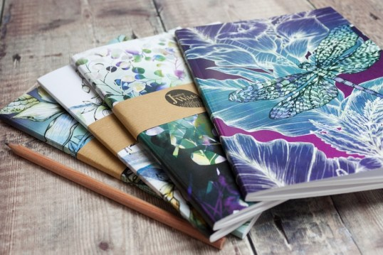 Biophilia Notebooks by Jessica Wilde