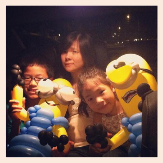 Minion balloon