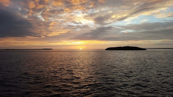 Beautiful sunrise photo taken by my roommate and partner in crime, Peige Turner