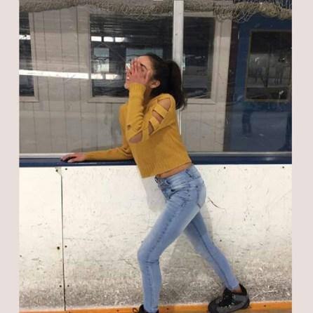 Jessy Ariaz - Ice Skating Day