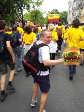 piotr i jego hamburger