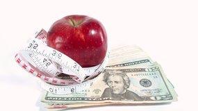 pieniądze szczupła sylwetka za pieniądze