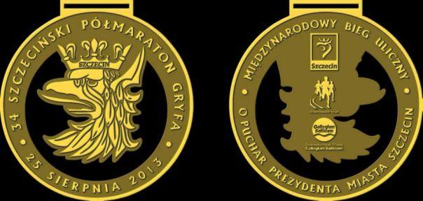 półmaraton gryfa 2013 medal
