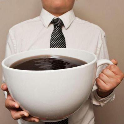 kawa wielka filiżanka