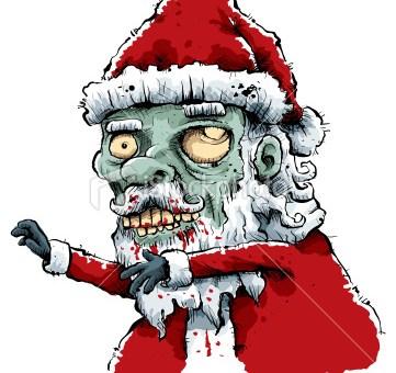 zombie mikołaj