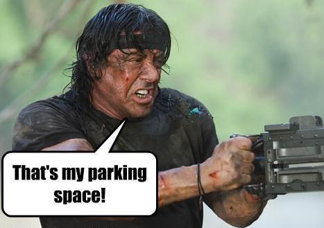 moje miejsce parkingowe