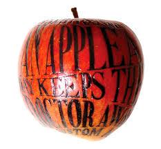 jedno jabłko z wieczora i nie trzeba doktora