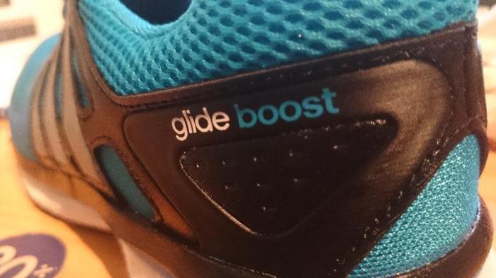 adidas glide boost 6 jestesmyfajni niebieskie
