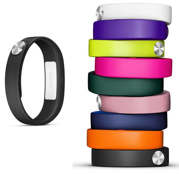 smart band różne kolory