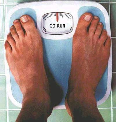 idź biegnij go run waga