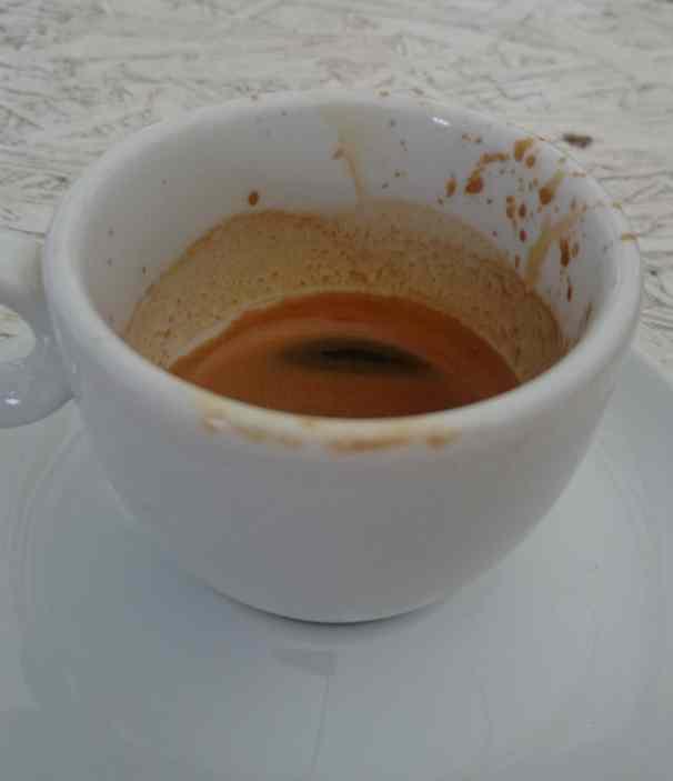 shot black czyli espresso