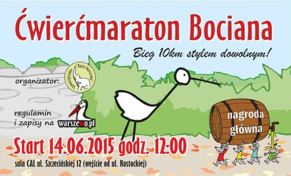 ćwierćmaraton bociana