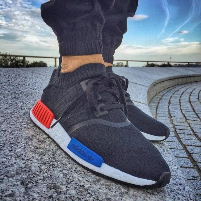 adidas nmd runner czarne