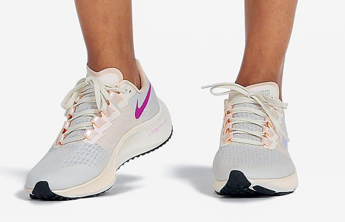 Nike Air Zoom Pegasus 37 recenzja język buta