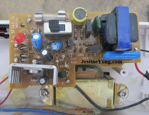 a dead emergency light repaired  electronics repair and