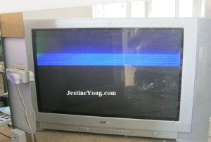 LG CRT TV with picture problem repaired Model: RT29FA34RB | Electronics Repair And Technology News