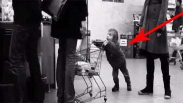 Zobacz, jak zareagował ten facet na zaczepki wyjątkowo niegrzecznego dzieciaka!
